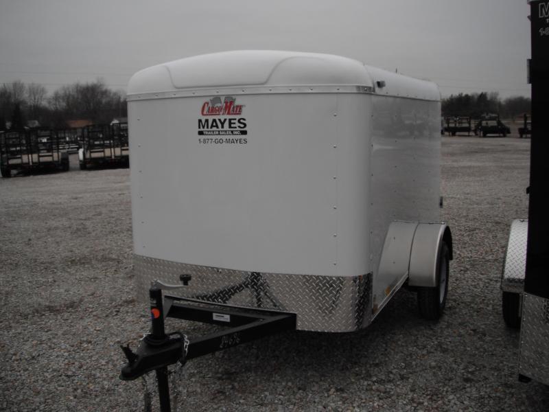 2015 5x8 Cargo Mate SS58SA Cargo / Enclosed Trailer - White