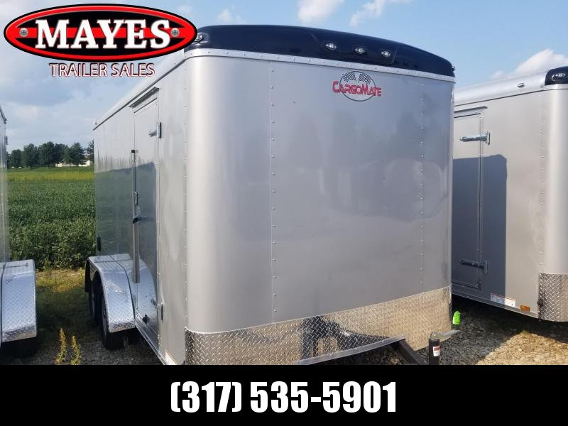2019 7x14 Cargo Mate BL714TA2 Enclosed Cargo Trailer - Diamond Ice (DD)(GVW: 7000)