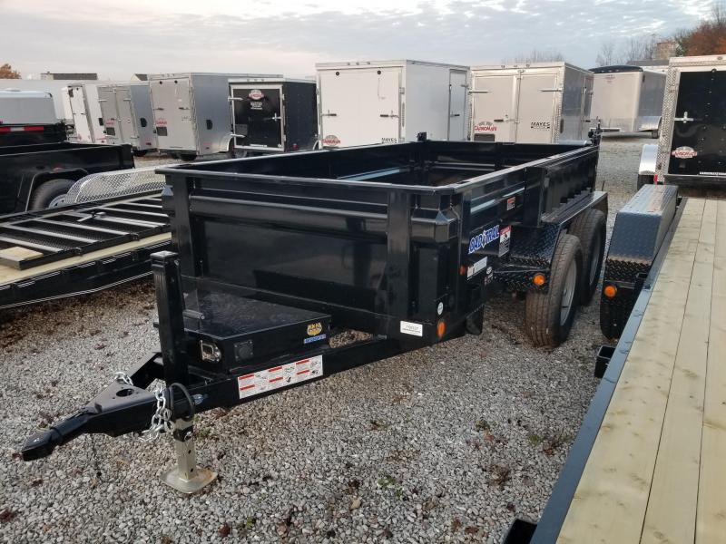 2018 5x10 Load Trail DT60 Dump Trailer - (Ramps)(Split/Spreader)(GVW: 7000)