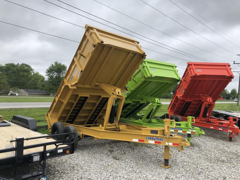2019 83x14 TA Dump Load Trail - 3-Way Gate - Tarp Kit - ***7 Gauge Floor & HD Double Channel Ramps (GVW:  14000)