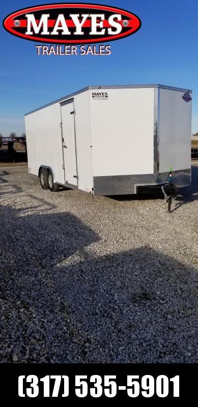 2019 102x20 Cargo Mate EHW8.520TA2 Enclosed Cargo Trailer - Ramp Door (GVW:  7000)