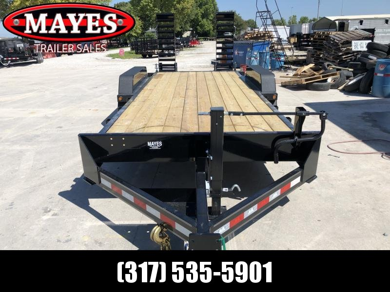 2020 83x20 Foot (18+2) TA B-B CBCT20203-S10K Equipment Trailer - D-Rings - Fender Guides - Flip Up Ramps (GVW:  20000)