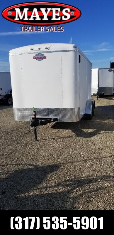 2019 7x14 Cargo Mate BL714TA2 Enclosed Cargo Trailer - Ramp Door (GVW:  7000)