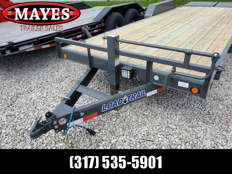 "2019 83""x22' (20+2) TA Load Trail CH8322072 Car / Racing Trailer - Max. Ramps (GVW:  14000)"