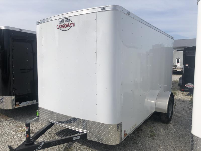 2020 6x12 SA Cargo Mate SS612SA Enclosed Cargo Trailer - Double Door - 6 Inch Additional Height (GVW:  2990)