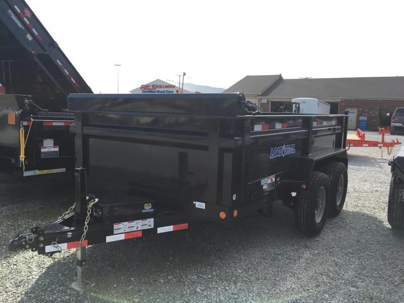 2018 83x12 Load Trail DT14 Dump Trailer - (Tarp Kit)(Ramps)(GVW: 14000)
