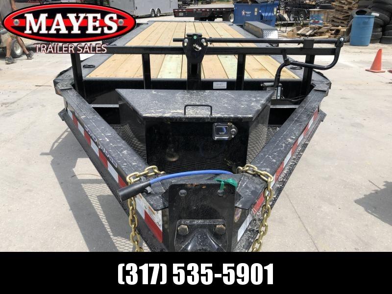 2019 83x20 (4+16) TA Tilt Load Trail TH8320082 Equipment Trailer - Pintle - Oil Bath Axles - D-Rngs (GVW:  16000)