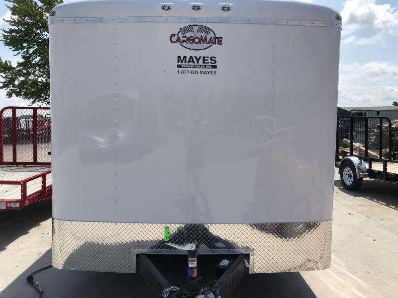 2020 8x22 TA Cargo Mate BL822TA3 Enclosed Cargo Trailer - Ramp Door - D-Rings (GVW:  9800)