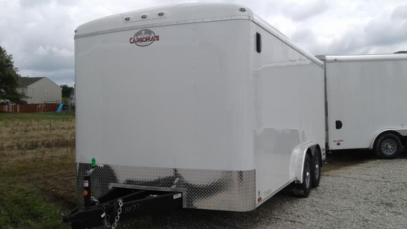 2020 8x16 TA Cargo Mate BL816TA3 Enclosed Cargo Trailer - Ramp Door - Torsion - 54 Inch Ext. Tongue (GVW:  9800)