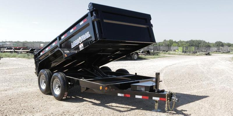 2017 83x14 Load Trail DT14 Dump Trailer 10k Jack  - (Tarp Kit)(Ramps)(GVW: 14000)