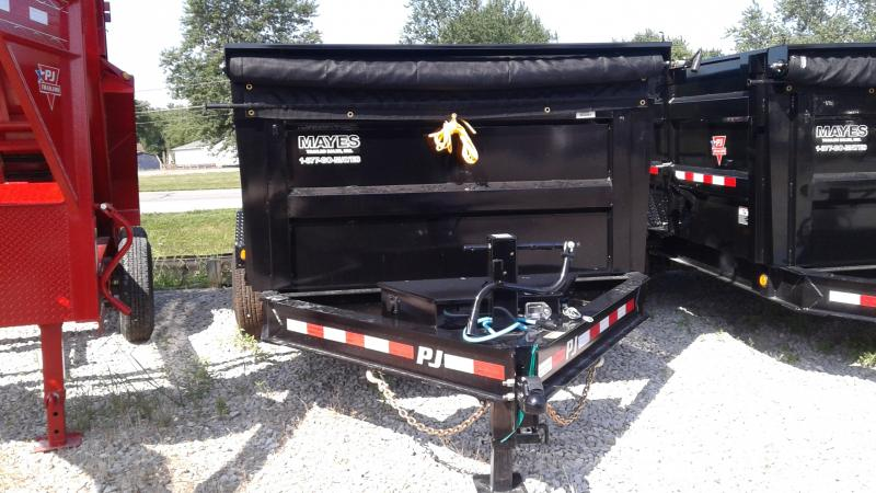 2020 83x14 Low Pro High Side TA PJ Trailers DM142 Dump Trailer - Split/Spread Gate - Tarp Kit (GVW:  14000)