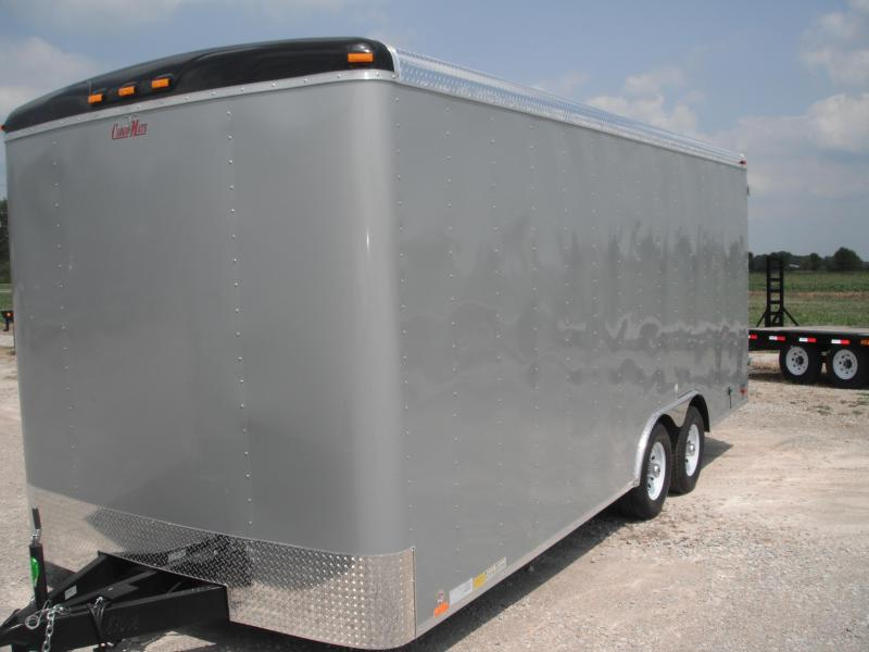 2015 8x20 Cargo Mate BL820TA3 Cargo / Enclosed Trailer - Diamond Ice (DD)(1' Extra Height)(48