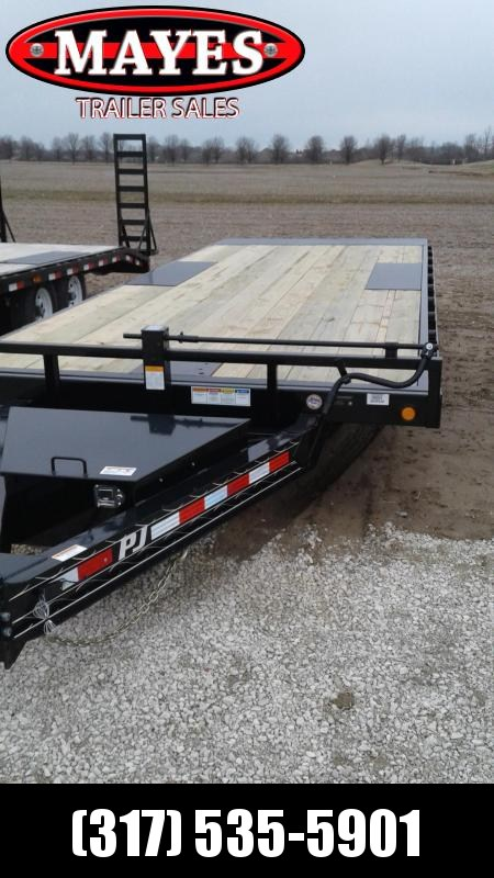 "2019 102""x22' Deckover Tilt PJ Trailers T8222 Equipment Trailer - Full Tilt - Winch Plate (GVW:  14000)"