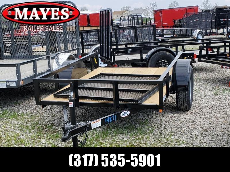 2019 5x8 SA American Manufacturing Operations (AMO) US081 Utility Trailer - Tailgate (GVW:  2990)