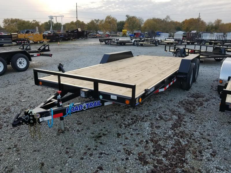 2018 83x18(16+2' Dovetail) Load Trail CH83 Car / Racing Trailer - w/ 5' Slide-in Ramps (GVW: 9990)