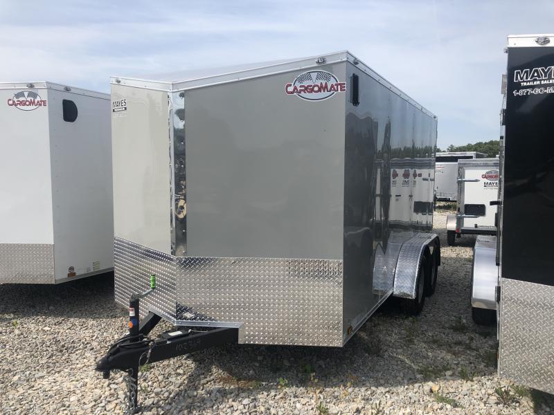 2020 7x14 TA Cargo Mate EHW714TA2 Enclosed Cargo Trailer - Ramp Door - E & V Series Pkg. #2 (GVW:  7000)