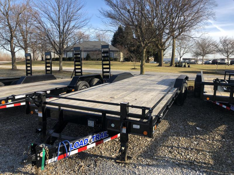 2019 102x24 (22+2) Load Trail CH0224072 Car / Racing Trailer - Rear Slide In Ramps (GVW:  14000)