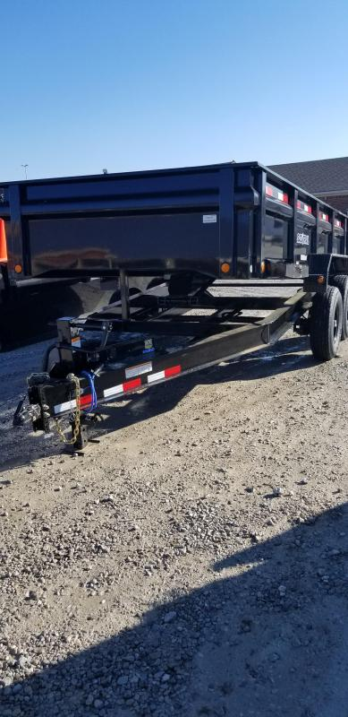"2019 83x14 Load Trail 83"" X 14' Tandem Axle Dump Dump Trailer - 3-Way Gate - Scissor Hoist (GVW:  14000)"