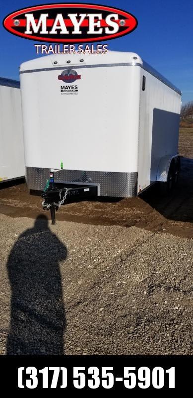 2019 7x14 Cargo Mate BL714TA3 Enclosed Cargo Trailer - Double Door - Side Door (GVW:   9800#)