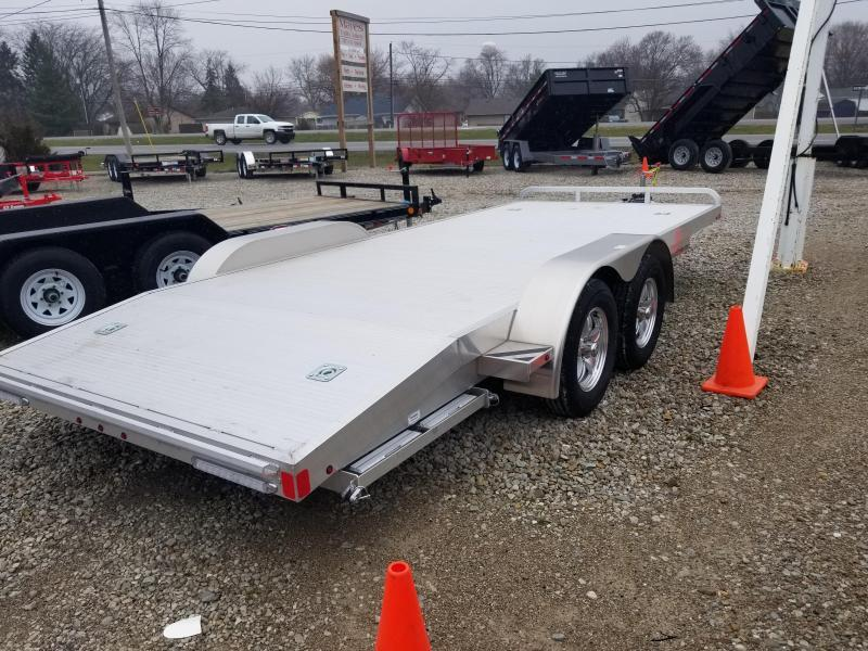 2019 82x18(16+2' Dovetail) Aluminum Trailer Company OCH1835 Car / Racing Trailer - w/ 7' Ramps (GVW: 7000)