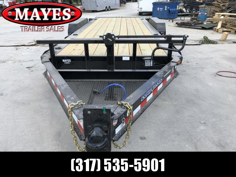 2019 83x20 (4+16) TA Tilt Load Trail TH8320082 Equipment Trailer -  Rub Rail - Oil Bath Axles - Pintle  (GVW:  16000)