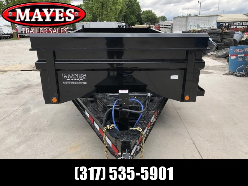 2019 83x14 TA Load Trail Dump - 3-Way Gate - Rear Slide In Ramps - Scissor Hoist (GVW:  14000)