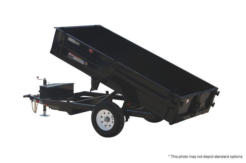 """2019 60""""x8 PJ Trailers 8'x60"""" Utility Dump Trailer - Split Gate (GVW:  4995)"""