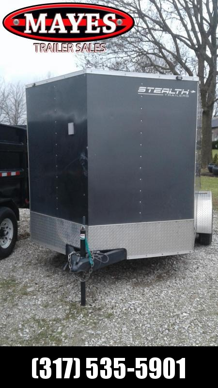 2018 Used 7x12 Stealth Trailers STET712TA2 Enclosed Cargo Trailer - Ramp Door (GVW:  7000)