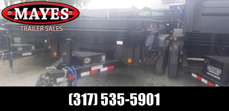 "2019 72""x12' TA Load Trail DT7212052 Dump Trailer - 3-Way Gate - Scissor Hoist (GVW:  9990)"