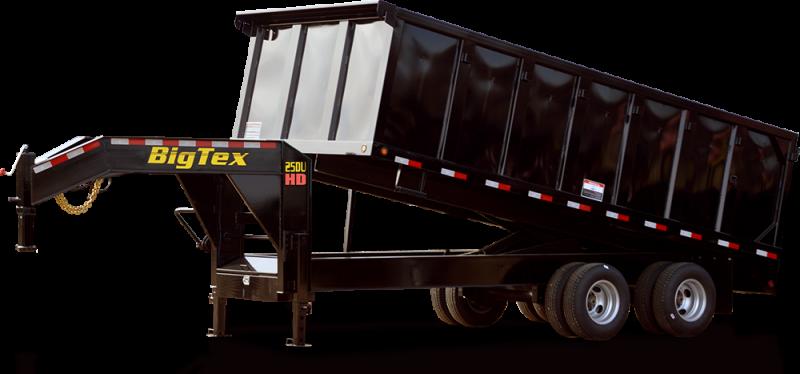 2016 92x20 Big Tex Trailers 25DU Tandem Dual Dump Trailer (GVW: 25900)