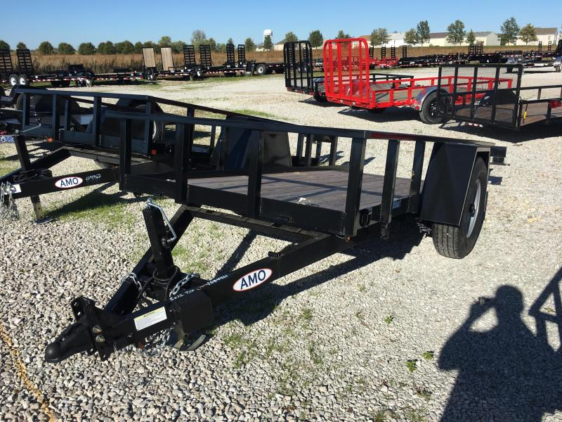 2017 5x12 American Manufacturing Operations A512TNSC Tilt Trailer (GVW: 7000)