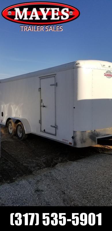 2019 7x18 Cargo Mate BL718TA2 Enclosed Cargo Trailer- Ramp Door (GVW:  7000)