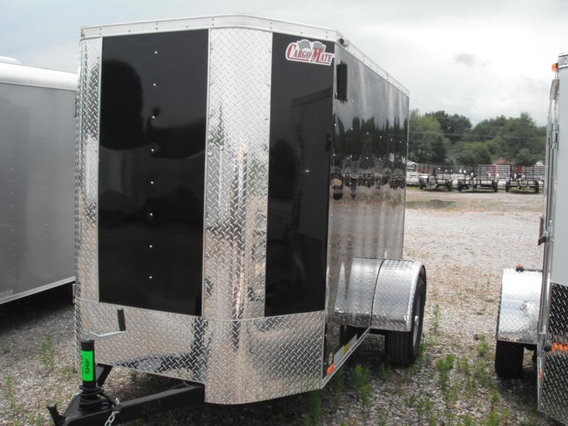 2015 5x8 Cargo Mate EHW58SA Cargo / Enclosed Trailer - Black (RD) (6