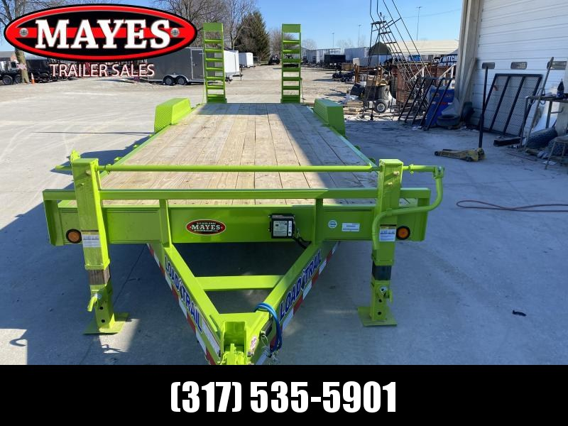 2020 83x24 (22+2) TA Load Trail CH8324072 Car / Racing Trailer - Fold Up Ramps - D-Rings - 8 Inch Channel Frame (GVW:  14000)