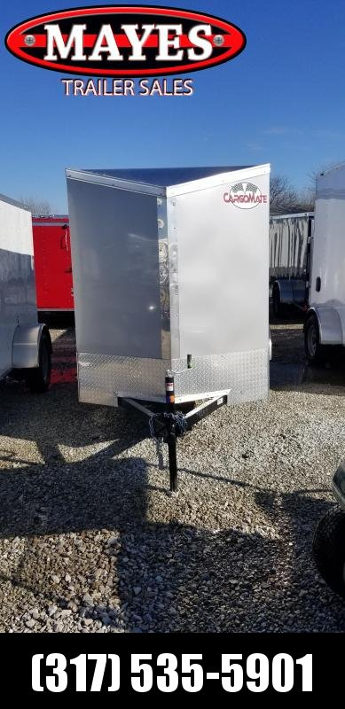 2019 5x10 SA Cargo Mate EHW510SA Enclosed Cargo Trailer - Ramp Door (GVW:  2990)