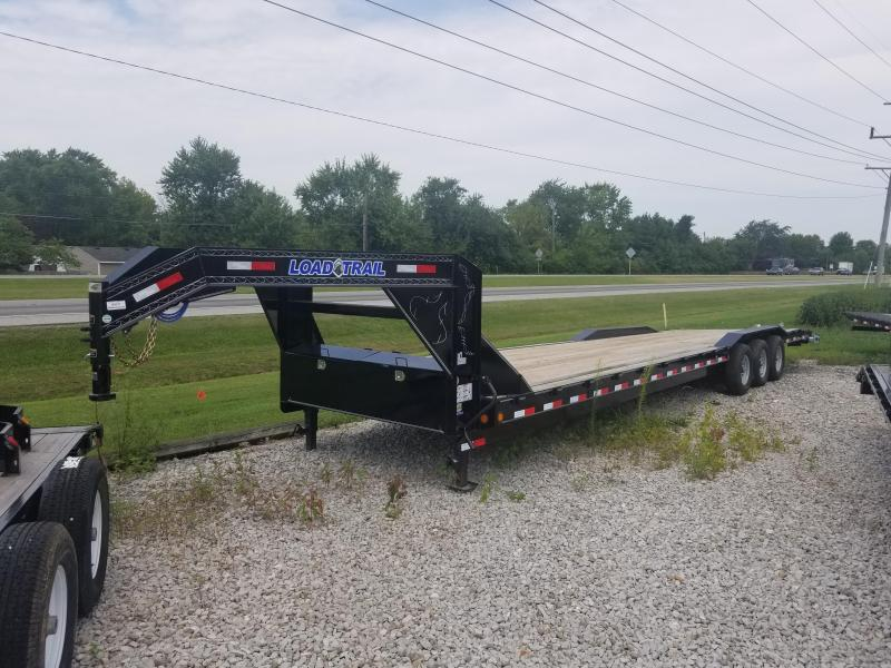 2018 102x36(33+3' Dovetail) Load Trail Triple Gooseneck Carhauler Car / Racing Trailer - w/ 6' Slide-in Ramps (GVW: 21000)