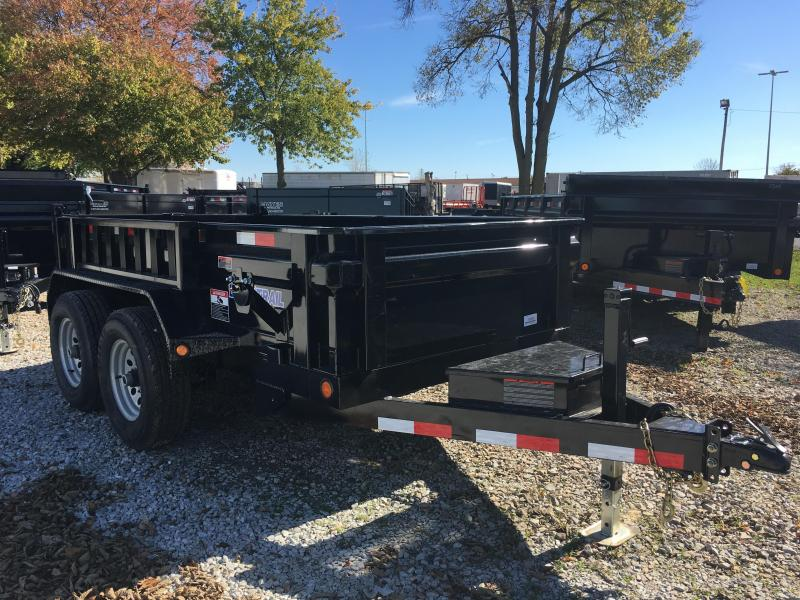 2018 5x10 Load Trail DT60 Dump Trailer - (Ramps)(Split/Spreader)(GVW: 9899)