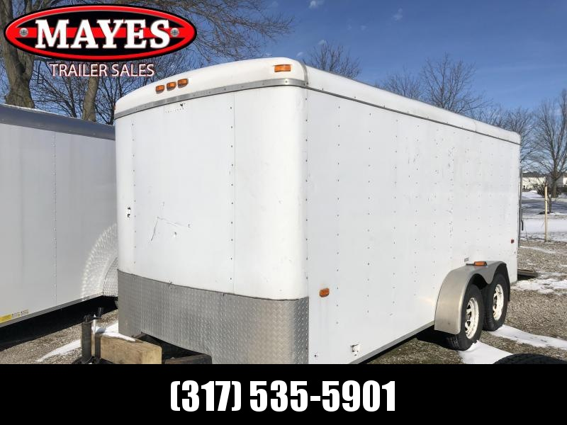 2004  Tandem Haulin Trailers 2 Axle Enclosed Cargo Trailer - Ramp Door (GVW:  7000)