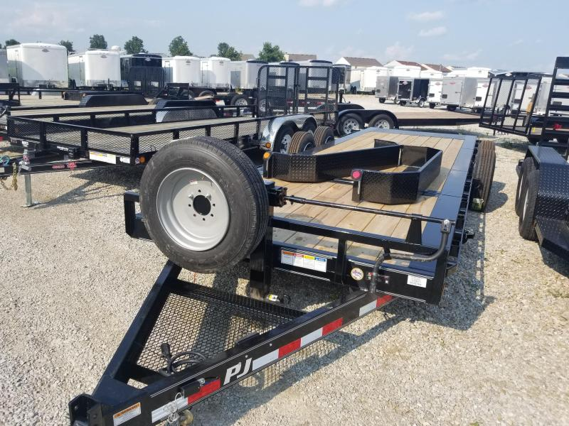 2018 82x22(16' Tilt + 6' Stationary) PJ Trailers TJ HD Tilt Trailer - (GVW: 14000)
