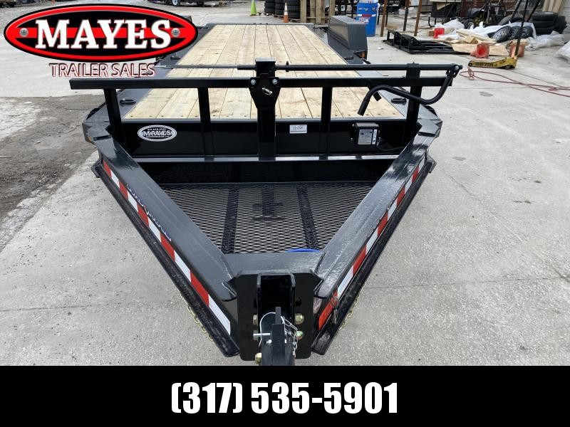 2020 83x22 (6+16) TA Load Trail TH8322072 Equipment Tilt Trailer - LED Lights - Cold Weather Harness - Torsion Axles - Tool Tray - Rub Rail - Spare Tire MOUNT ONLY (GVW:  14000)