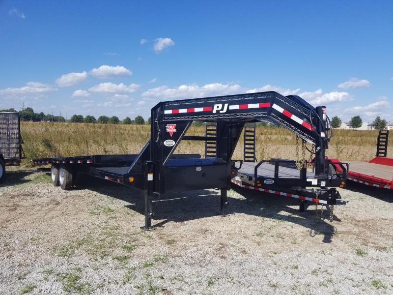 2018 102x26(22' Tilt + 4' Stationary) PJ Trailers T8 Deckover Tilt Trailer - (GVW: 16000)(Blackwood Pro Full Deck)