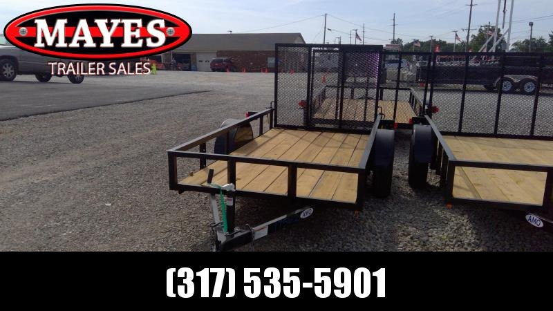 2020 76x10 SA American Manufacturing Operations (AMO) US101 Utility Trailer - Tailgate (GVW:  2990)