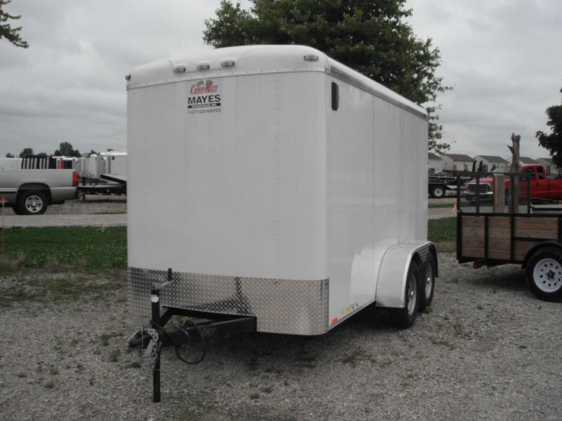 2014 6x12 Cargo Mate BL612TA2 white 7K  Other Trailer