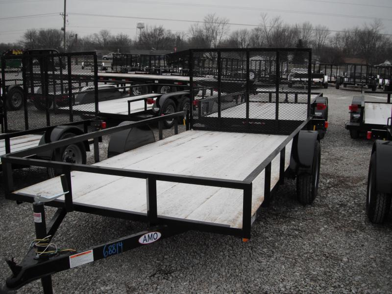 2015 72x12 American Manufacturing Operations A612GN Utility Trailer (GVW: 2990)