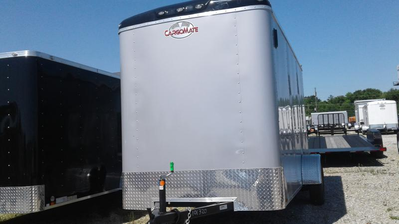 2020 6x12 SA Cargo Mate BL612SA Enclosed Cargo Trailer - Ramp Door - Torsion - 12 Inch Additional Height (GVW:  2990)