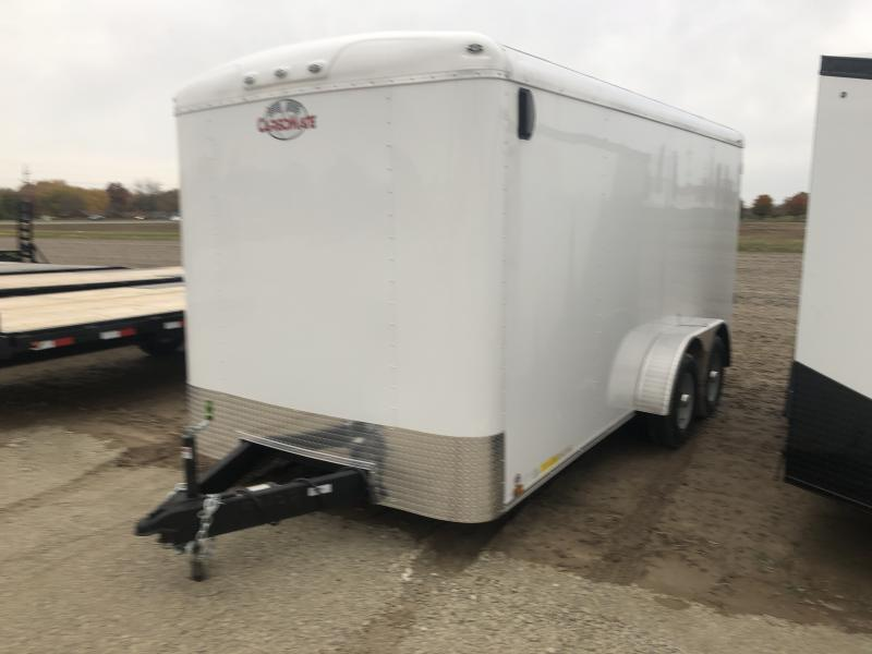 2019 7x16 Cargo Mate BL716TA3 Enclosed Cargo Trailer - Ramp Door (GVW:  9800)