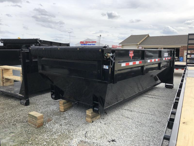 2018 83x14 PJ Trailers KD Roll Off Dump Bin ONLY