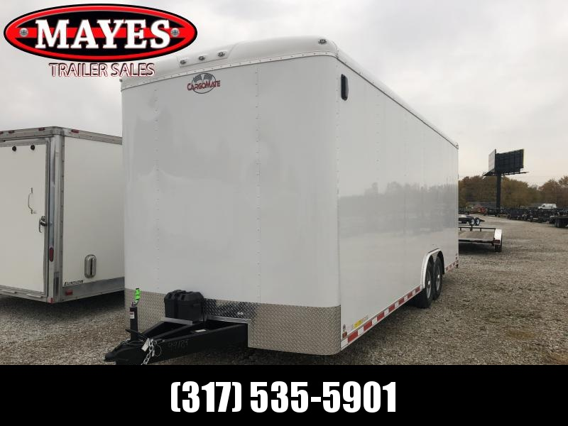 2019 102x24 Cargo Mate BL824TA4 Enclosed Cargo Trailer - Ramp Door (GVW:  12000)