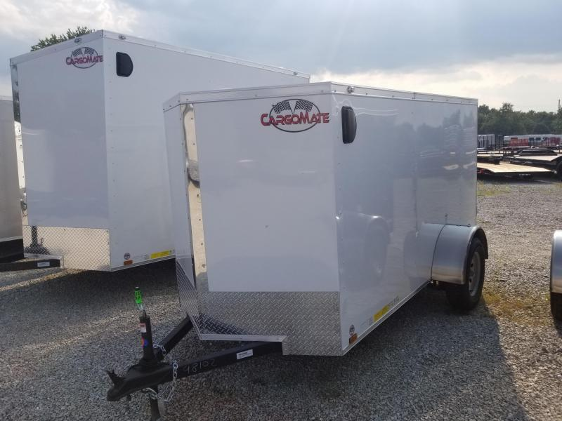 2019 5x10 Cargo Mate EHW510SA Enclosed Cargo Trailer - White (RD)(GVW: 2990)