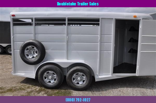 Calico Deluxe 3H BP Slant Load Horse Trailer